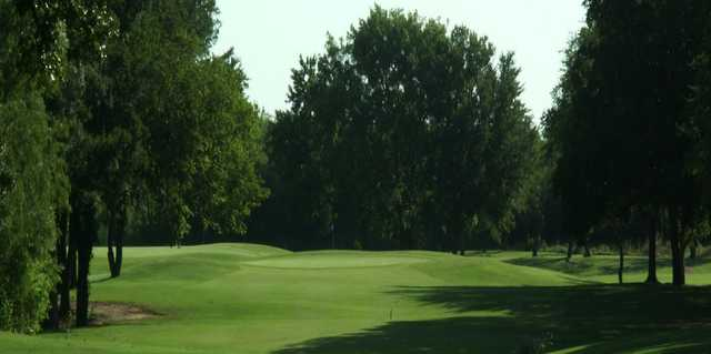 A view from a fairway at Mountain Valley Country Club