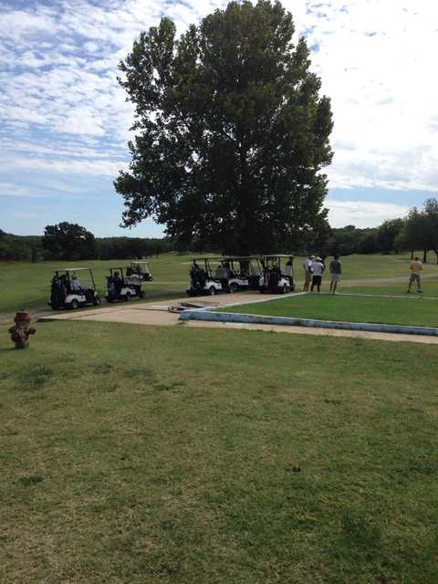 A view from Pawhuska Golf & Country Club