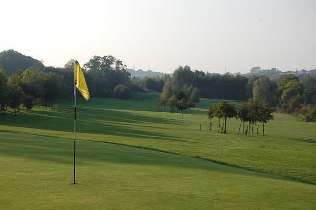 A view of hole #7 at Brierley Forest Golf Club