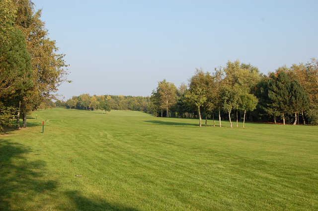 A view of the 4th fairway at Brierley Forest Golf Club