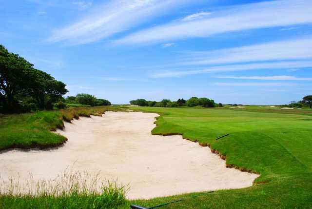 A view of fairway #15 from West at Maidstone Club