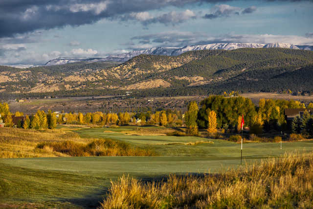 A fall day view from Eagle Ranch Golf Club