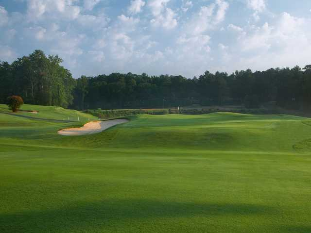 A view of a hole at Forest Hills Golf Club