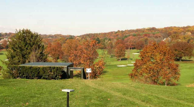 A fall day view from Fox Chapel Golf Club