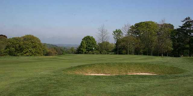 A view of green #14 at Hexham Golf Club