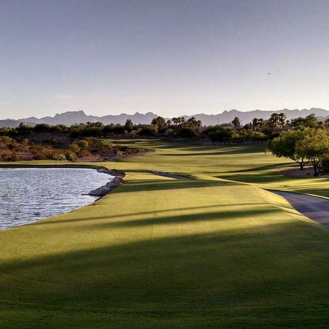 A view from tee #10 at TPC Las Vegas