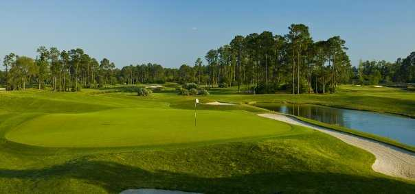 A view of a hole from Slammer and Squire Golf Course at World Golf Village