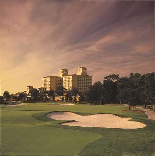 A view from The Ritz-Carlton Golf Club, Orlando, Grande Lakes