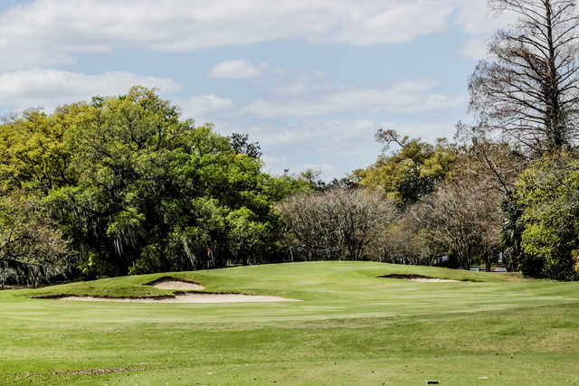 View of the 13th green at Audubon Park Golf Course
