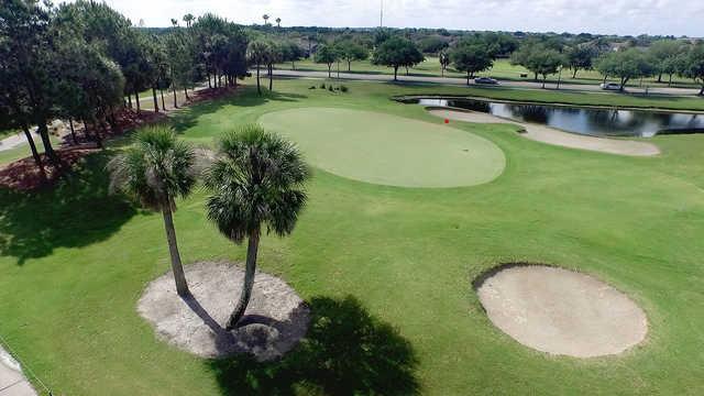 View of a green at Remington Golf Club