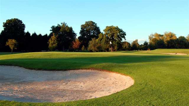 A view of a hole at Brickendon Grange Golf Club