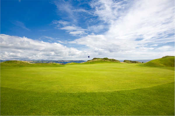 A view of green #16 at Castletown Golf Club