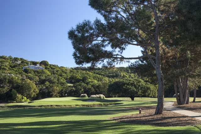Bunkered green at Tapatio Springs Hill Country Resort & Spa