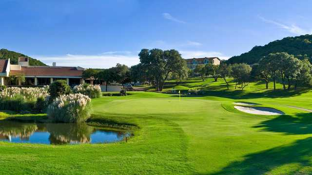 View of a green and water at Tapatio Springs Hill Country Resort & Spa