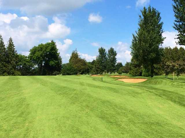 A sunny day view from Sherborne Golf Club