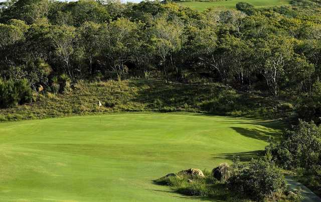 A view of the 8th hole at Hamilton Island Golf Course