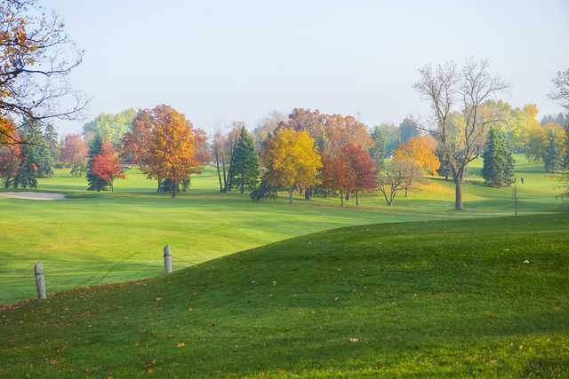 Fall view from Silver Lake Country Club