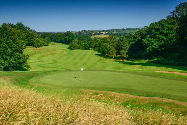 Looking back from the 8th hole at Edenderry course at Malone Golf Club