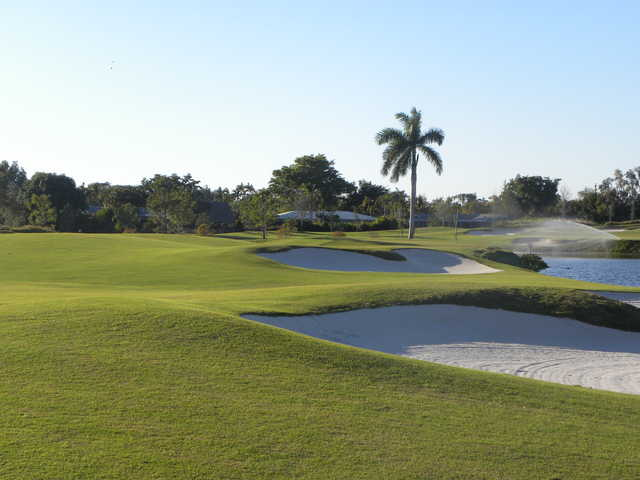 View from no. 16 at Davie Golf & Country Club