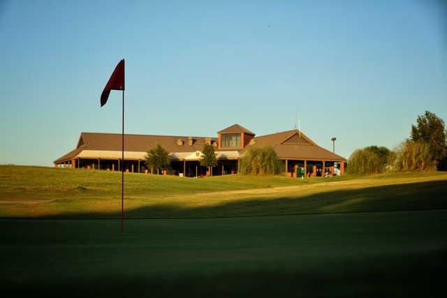 View from a green at Hidden Creek Golf Club