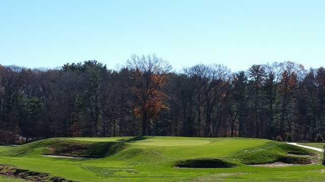 A view of the 13th green at Keney Park Golf Club