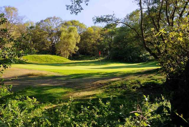 View of a green at London Scottish Golf Club
