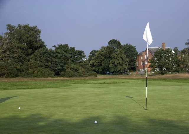 View from a green at London Scottish Golf Club