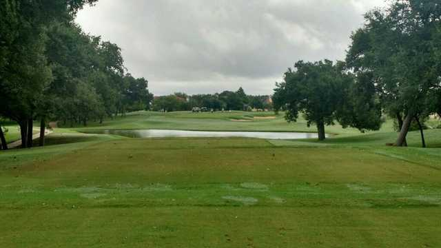 A view over the water from Fair Oaks Ranch Golf & Country Club