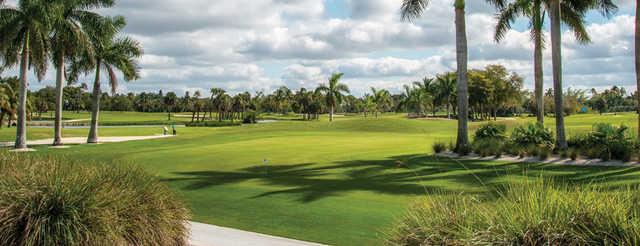 A view of a green at Naples Beach Hotel & Golf Club