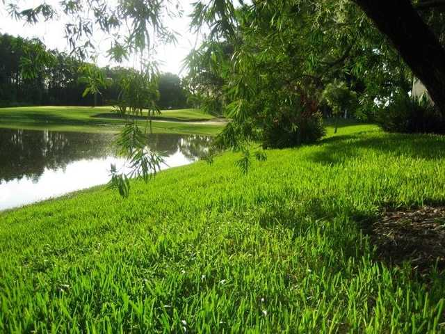 A view over the water from Timber Greens Country Club