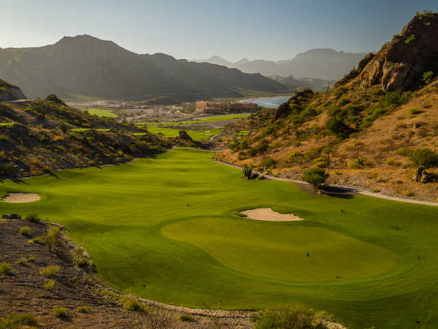 A view of th 16th hole at TPC Danzante Bay