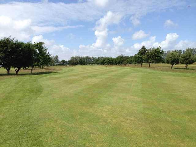 A sunny day view from Southport Golf Academy