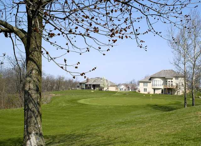 A view of hole #7 at Teetering Rocks Links