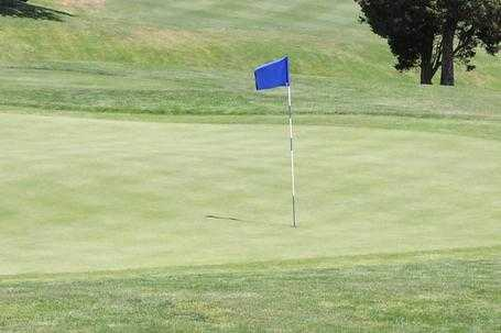 A view of a hole at Furnace Brook Golf Club