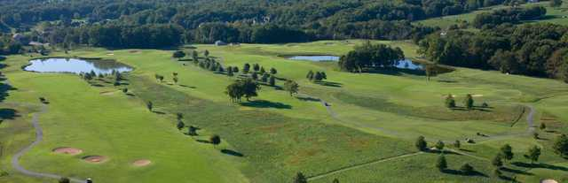 Aerial view of the Dogwood Hills Course at Bella Vista Country Club