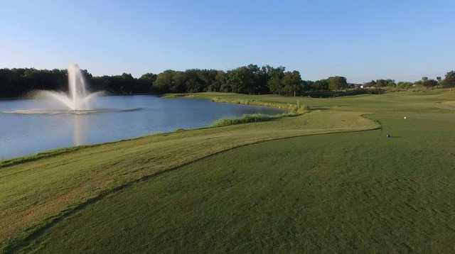 A view from a tee at Hidden Creek Golf Club