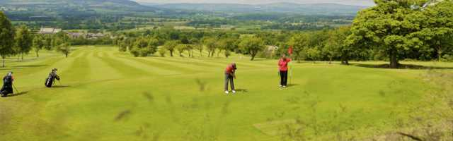 view from Mytton Fold Golf Club