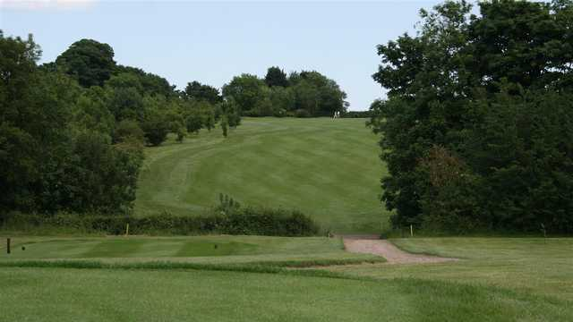 A view from tee at Haverhill Golf Club