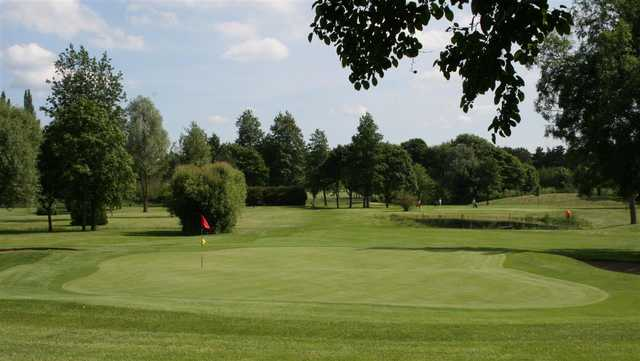 View of a green at Haverhill Golf Club