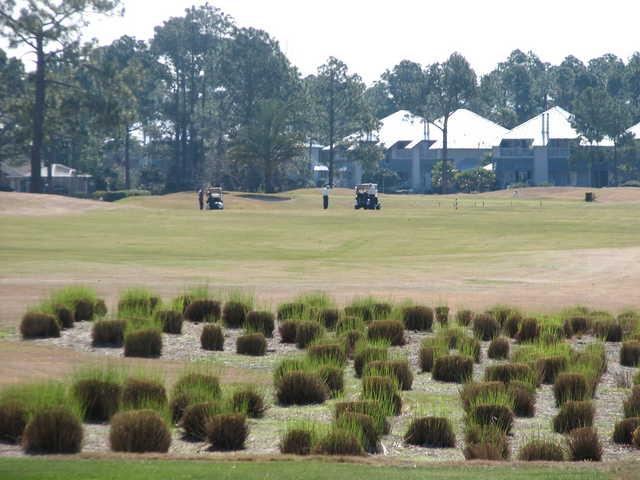 No. 7 at Perdido Bay Golf Club in Pensacola, Florida, is a mid-length par 5.