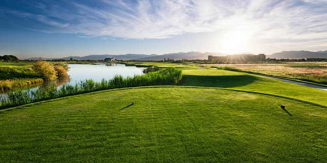 A view from a tee at Stonebridge Golf Club