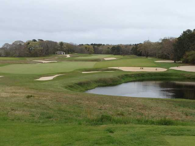 A view from tee #9 at National Golf Links of America (Jake Pleczkowski)