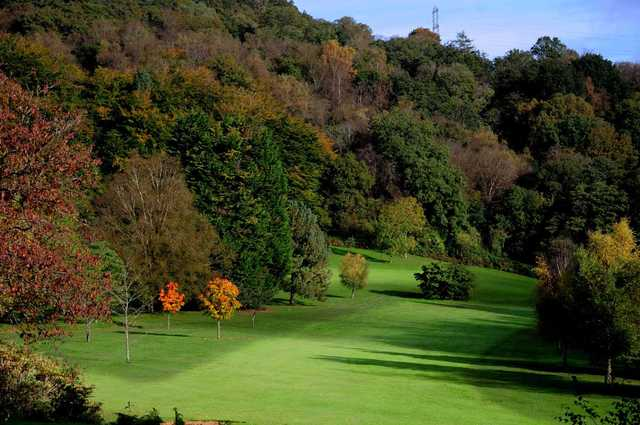 View of the 1st hole at Llanishen Golf Club