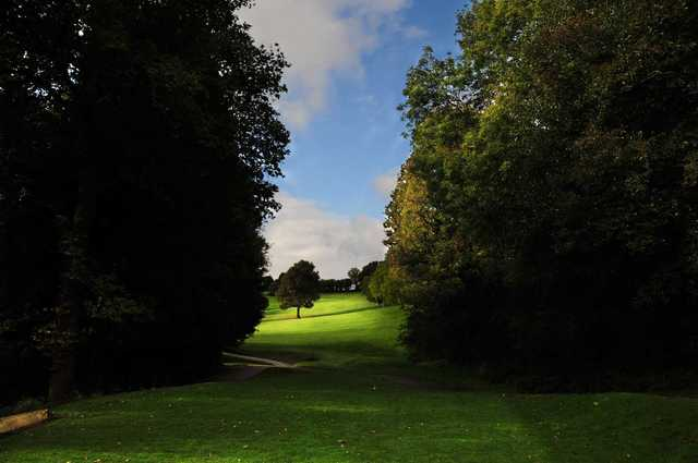 View from the 5th tee  at Llanishen Golf Club