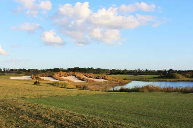 View of a green at Royal St. Cloud Golf Links