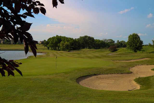 A view from Falcon Lakes Golf Course