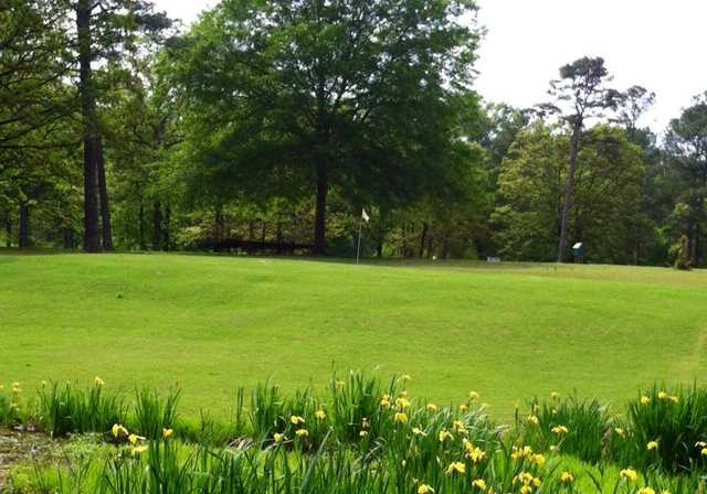 A view of hole #15 at Cherokee Country Club