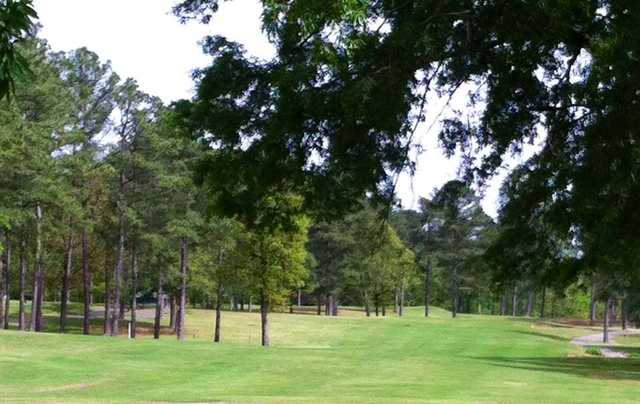 A view the16th fairway at Cherokee Country Club