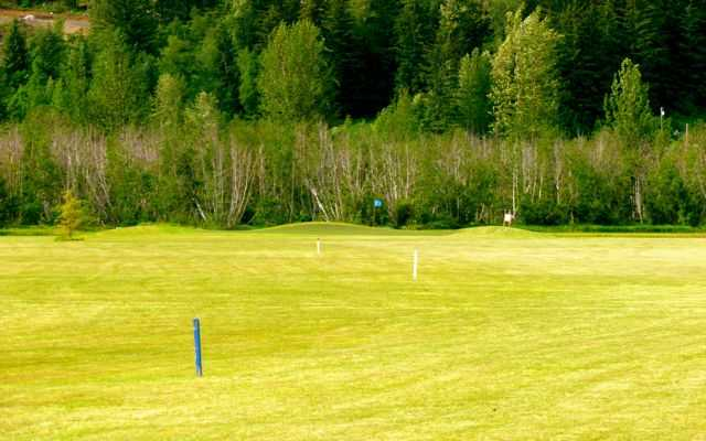 A view from the 7th fairway at Valley of the Eagles Golf Links