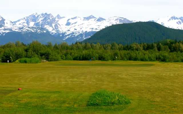 A view from tee #8 at Valley of the Eagles Golf Links